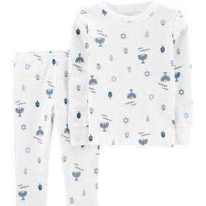 Carter's 2-Piece Hanukkah Snug Fit Cotton PJs